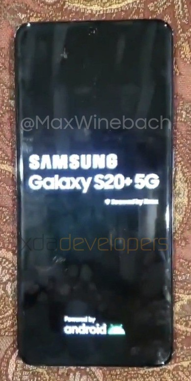 samsung galaxy s20+ leaked specs