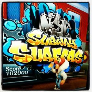 Subway Surfer Game Logo